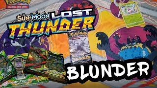 Lost Thunder Blunder And Premium Collection Bundle Sale