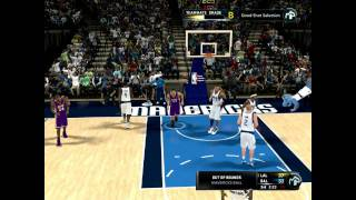 NBA 2K11 Gameplay (PC) - Los Angeles Lakers vs Dallas Mavericks