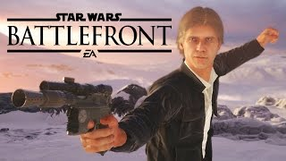Star Wars Battlefront Walkthrough Gameplay Part 1 SUPREMACY - With HAN SOLO & EMPEROR