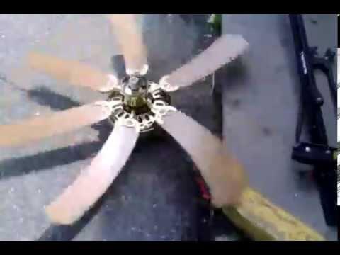 52 Polished BrassTyeb Ceiling Fan