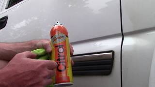 Citrol 266 Aerosol Review & Removing Car Emblems Without Using Heat!
