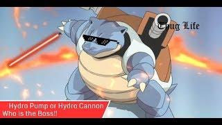 Max CP y Perfecto IV Blastoise : Hydro Cannon vs Hidro Bomba