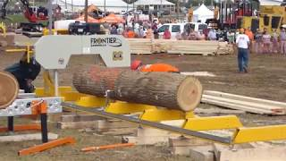 Norwood Frontier OS-27 Bandsaw Mill in Action
