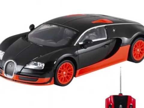 Bugatti Veyron Coche De Juguete Con Control Remoto Youtube