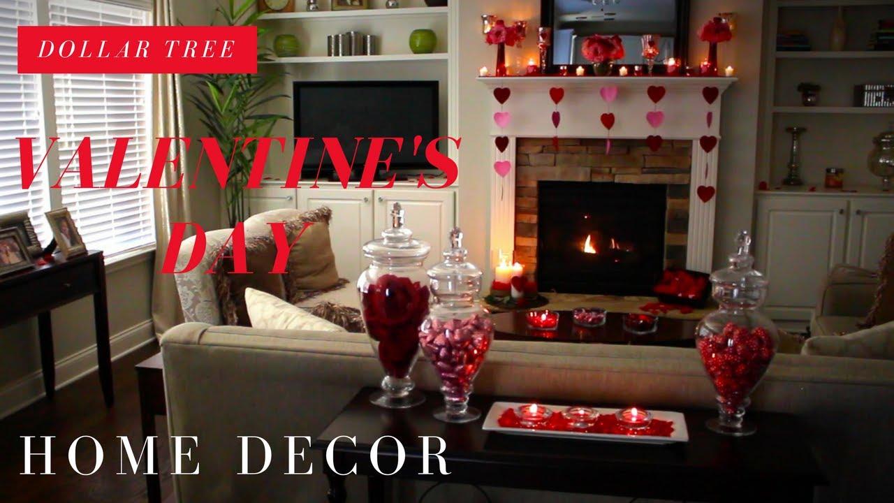 Dollar Tree Valentine S Day Home Decor Youtube