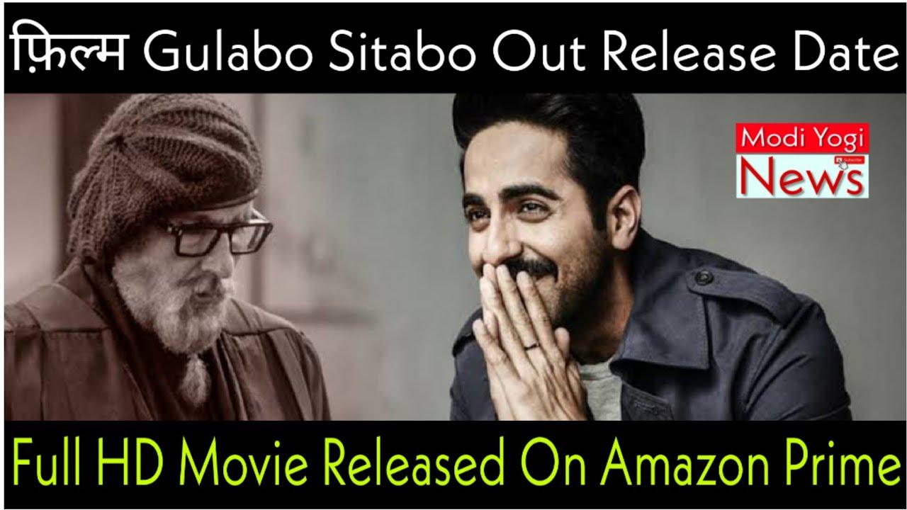 Download [Hindi]Gulabo Sitabo Full Movie 2020 Amitabh Bachchan,Ayushman Khurana Movie Bollywood Hindi Movie