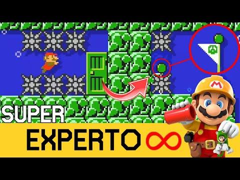 Cuando La VIDA Depende De UN PIXEL!!! 😨 - SUPER EXPERTO INFINITO - SMM2 - ZetaSSJ