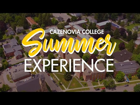 Cazenovia College's 2019 Summer Experience Program