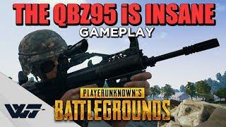 The QBZ95 Is INSANE (New GUN Gameplay) - PUBG