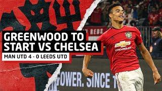 Greenwood Forcing Solskjaer! Manchester United 4-0 Leeds United   Review