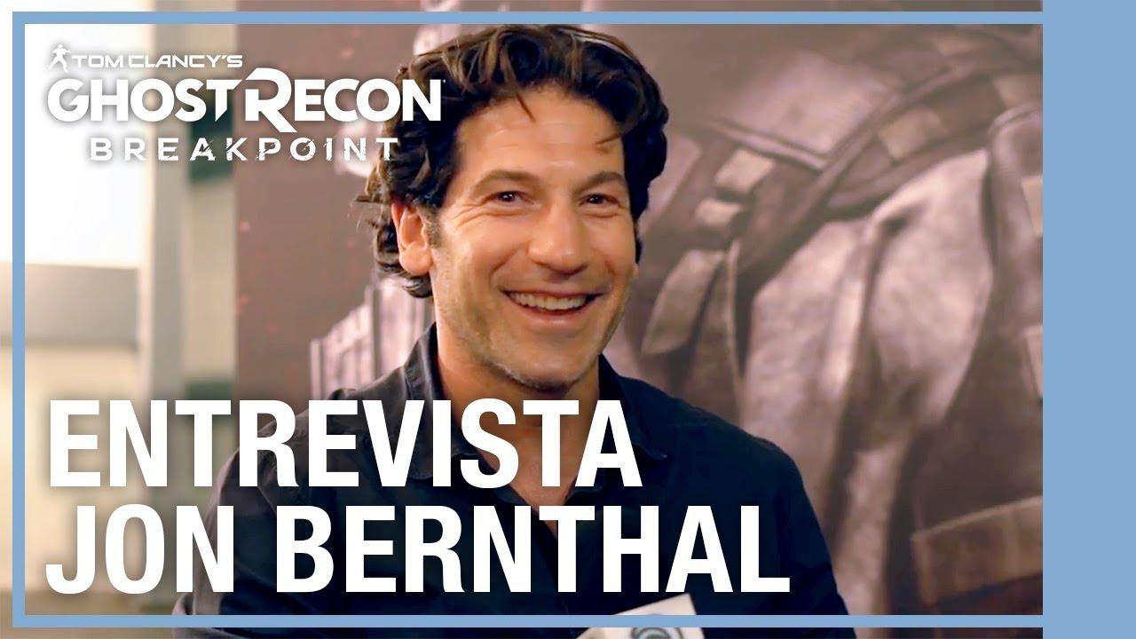 Jon Bernthal nos cuenta cómo fue el proceso para estar en Breakpoint