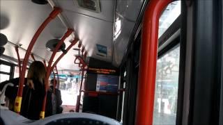 Route 414 9512 SN59AVZ Alexander Dennis Enviro  400 10.1m Abellio London