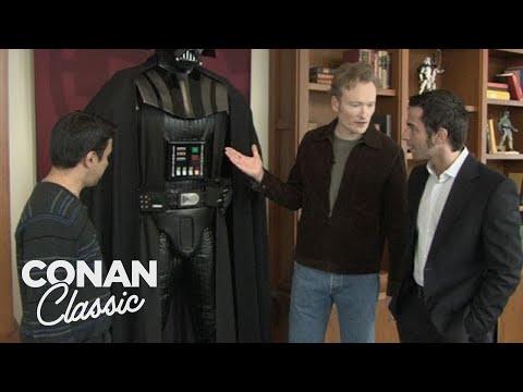 "Conan & Jordan Visit Lucasfilm - ""Late Night With Conan O'Brien"""