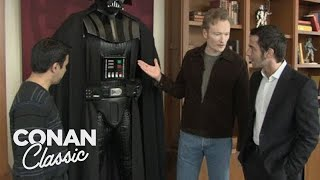 Conan & Jordan Visit Lucasfilm  'Late Night With Conan O'Brien'