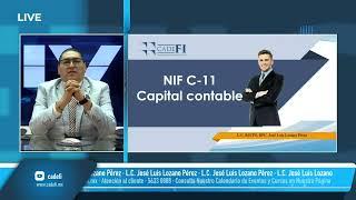 Cadefi   Diplomado de NIF´s 2021   NIF C-11 Capital Contable   Julio