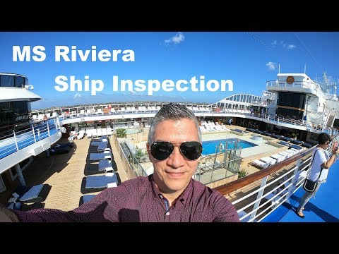 MS Riviera inspection