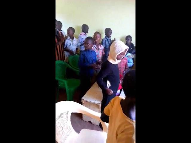 Young Brother Abel Leading Childrens Worship Mois Bridge Kenya