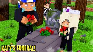 Little Donny BURIES HIS GIRLFRIEND'S DEAD BODY.... Minecraft