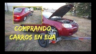 COMPRÉ UN CARRO CON EL MOTOR DAÑADO EN ESTADOS UNIDOS|JARED NICOLAS