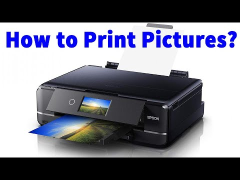 How to print pictures CANON MX452 serie Easy
