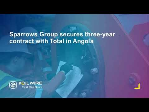 Sparrows Group secures three-year contract with Total in Angola
