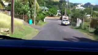 Reggae Bus Ride Grenada West Indies Carib