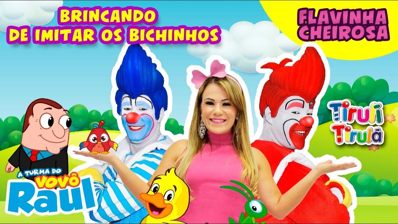 BRINCANDO DE IMITAR OS BICHINHOS! | VOVÔ RAUL GIL