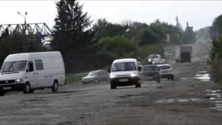 H02 national road Lviv-Ternopil Ukraine 2014