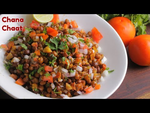 Iftar Special CHANA MASALA CHAT | Easy Healthy Chana Chat | By Chef Aadil Hussain