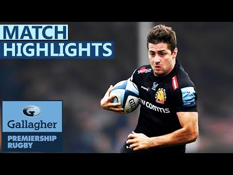 Worcester 30-33 Exeter | Cordero Double Secures Narrow Win | Gallagher Premiership - Highlights