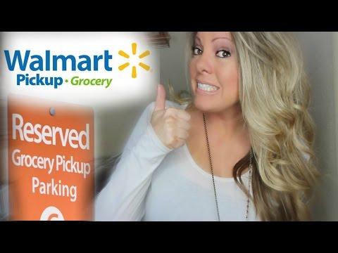 GROCERY PICKUP WALMART! ORDER ONLINE - HOW DOES IT WORK?
