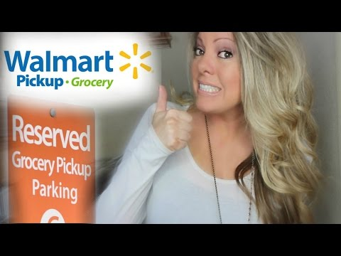GROCERY PICKUP WALMART! ORDER ONLINE - HOW DOES IT WORK?