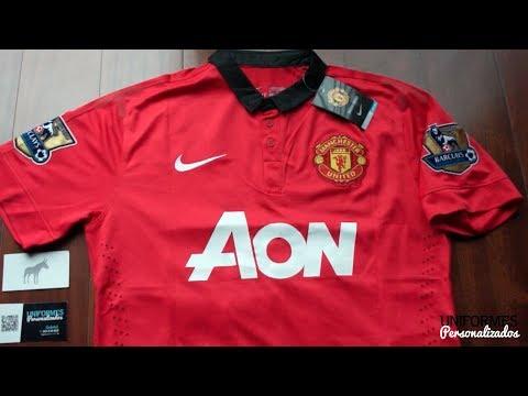 Manchester United 13-14 (Playera CODE 7 Local) Premier League.