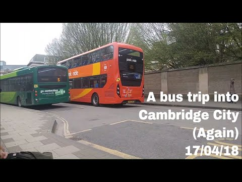 A bus trip into Cambridge City (Again) | 17/04/18
