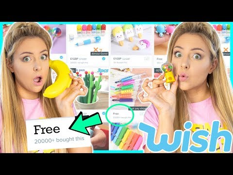 Testing Free Back To School Supplies From Wish ! Success Or Disaster !