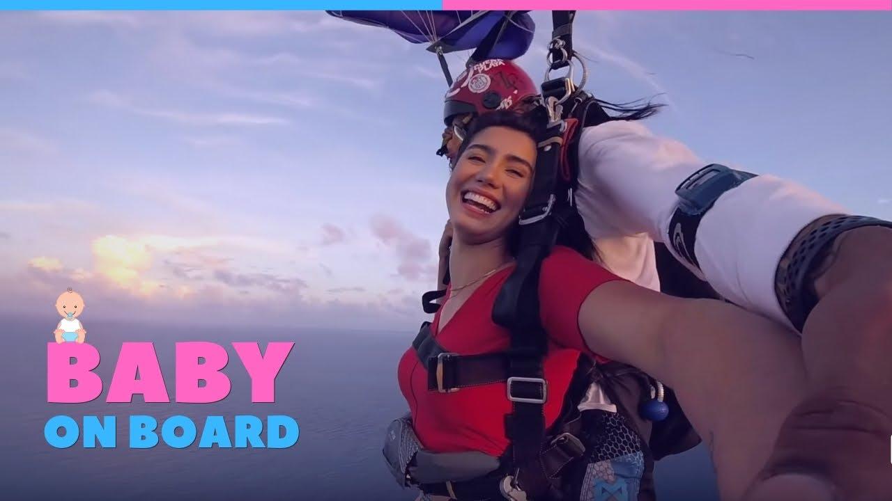 Incredible Skydive Gender Reveal