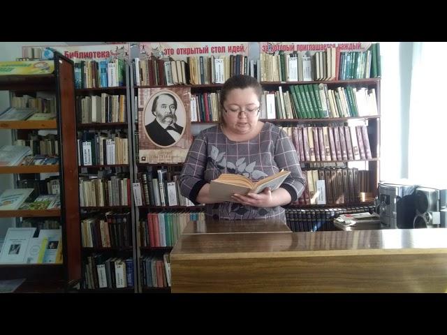 Изображение предпросмотра прочтения – ОльгаВиноградова читает произведение «Обломов» И.А.Гончарова