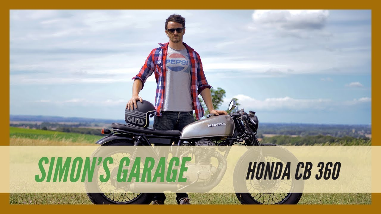 on the road with honda cb 360 cafe racer ! - youtube