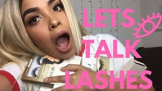 LETS TALK LASHES | VLUXE | VEGAS NAY | WISH/CUTE LASHES