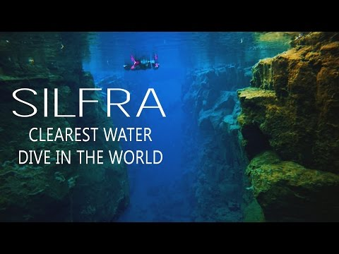 Snorkeling Silfra Between Tectonic Plates // Iceland