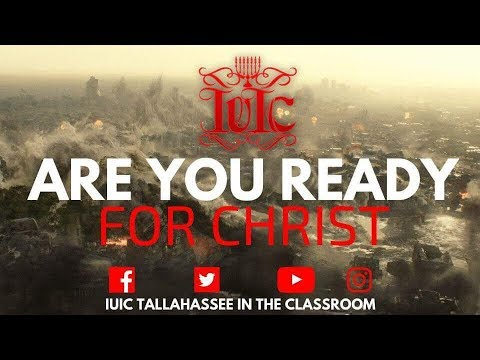 The Israelites: Are You Ready For Christ!!!