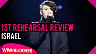 """Israel First Rehearsal: Hovi Star """"Made of Stars"""" @ Eurovision 2016 (Review) 