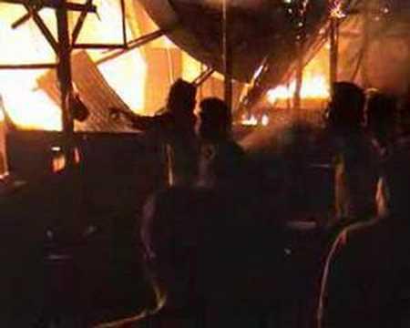 Pasar Loket/ Cikpuan Pekanbaru Terbakar I