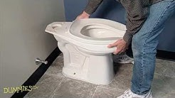 How to Fix a Leaky Toilet For Dummies
