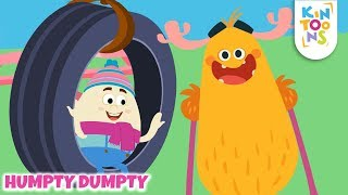 Humpty Dumpty - Learn From Your Mistakes | Nursery Rhymes & Baby Songs | KinToons