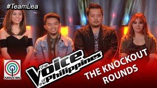 Team Lea Knockout Rounds Decision: Casper, Mic, and Nino (Season 2) Video