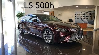 All New Lexus LS 500h 5th Gen 2017 (Full Walkaround Tour) - Stavros969