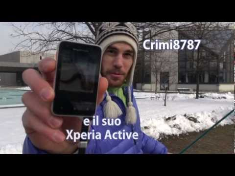 Extreme Fishing with Xperia Active Smartphone