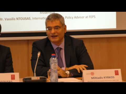 Roundtable discussion with Mr. Öztürk Yılmaz, Vice-President of Turkey's CHP Party