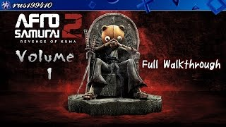 Afro Samurai 2: Revenge of Kuma (Volume 1) Full Walkthrough [PS4] rus199410